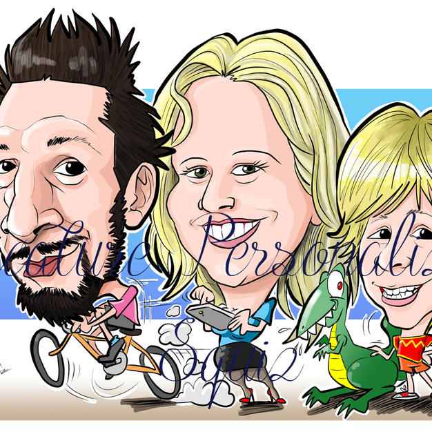 Caricature personalizzate