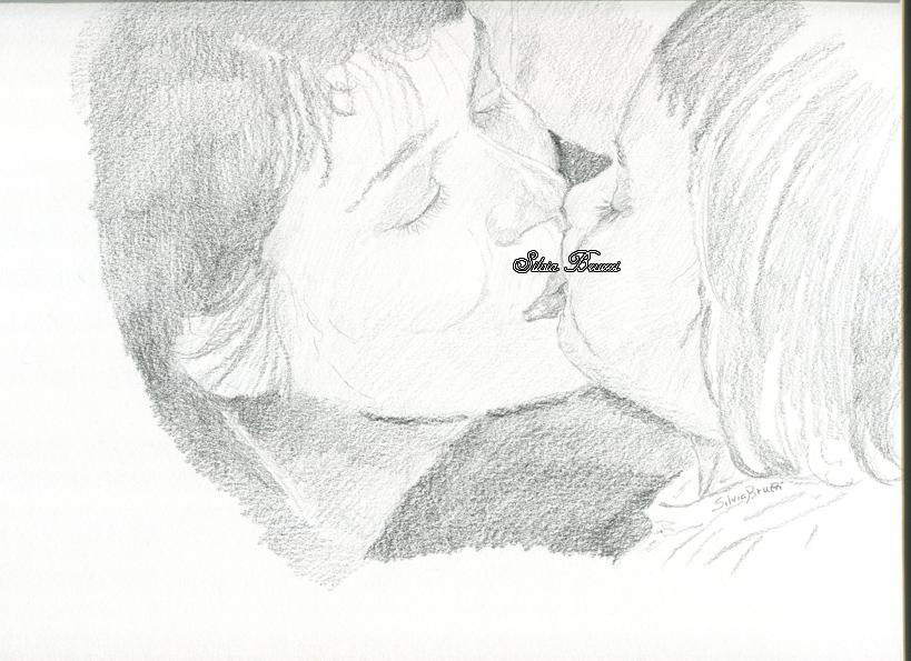 bacio amelie e chiara