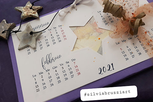 Calendari artistici Natalizi temi misti
