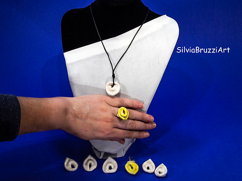 Tortellini collane, anelli, orecchini