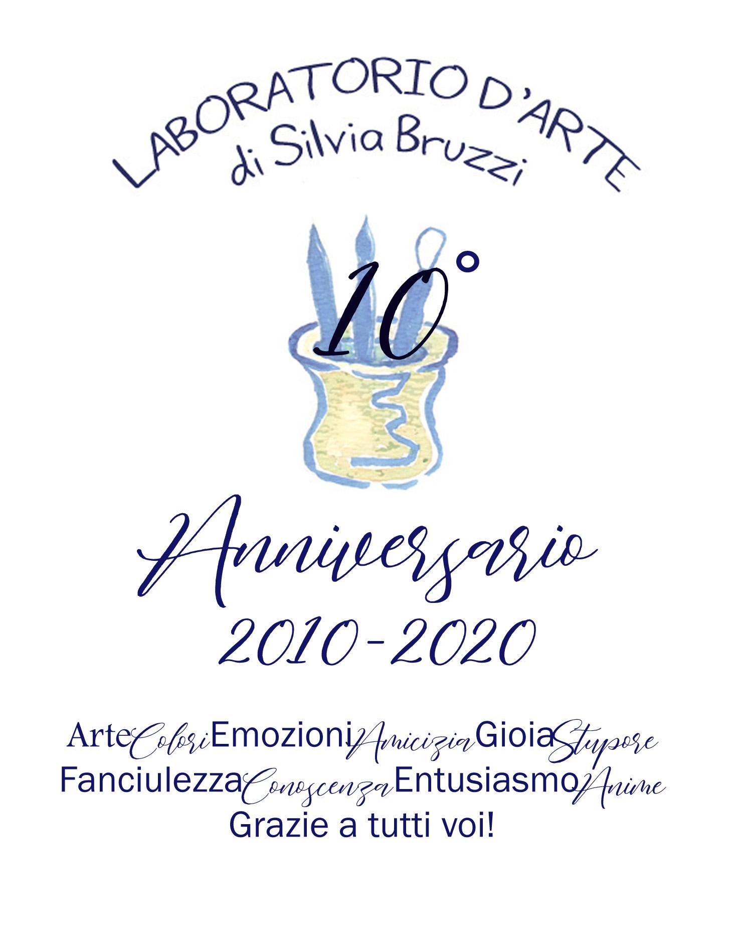 10 anni d'arte: 2010-2020