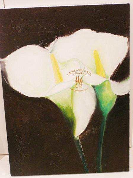 Fiori - Flowers dipinti ad olio