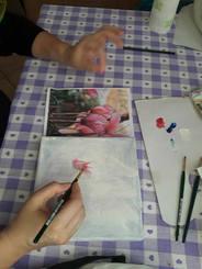 La pittura ad Olio