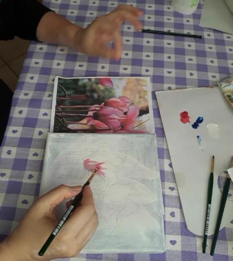 Lab di pittura ad olio