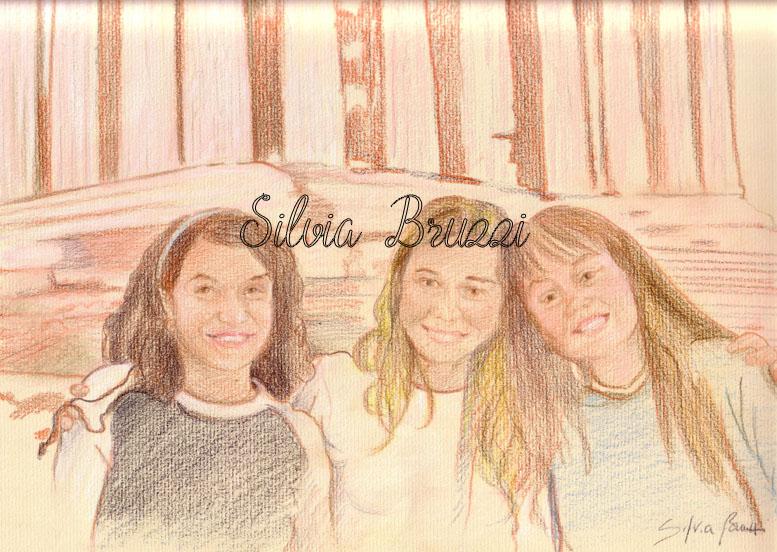 tre amiche e partenone1