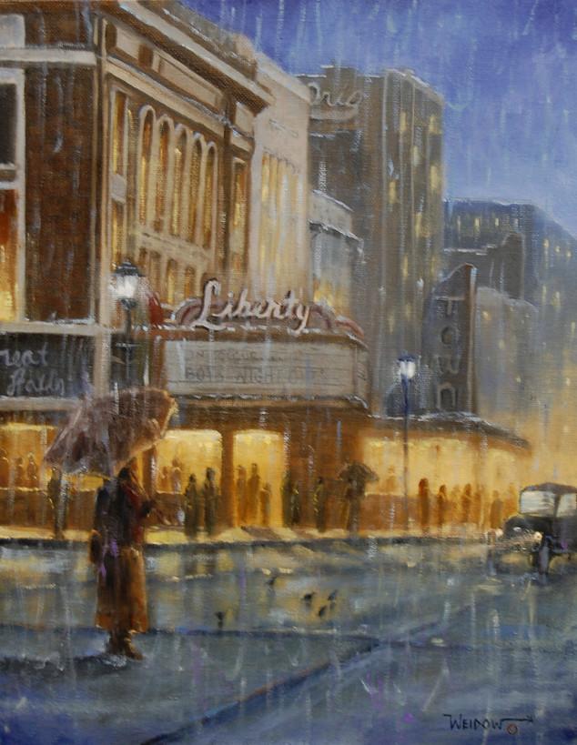Liberty in the Rain