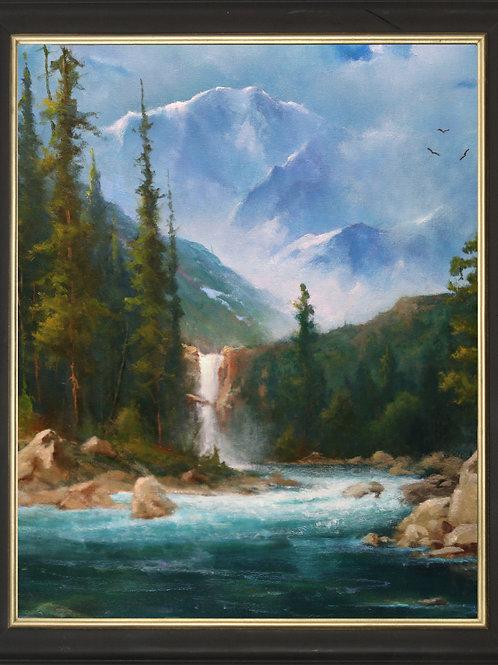 """Glacier Falls"""