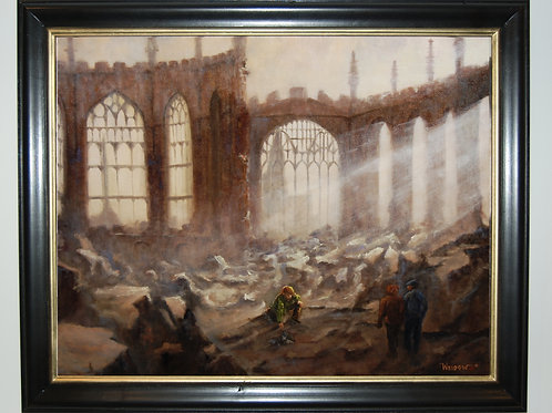 """""""Ruins of Coventry Cathedral"""""""