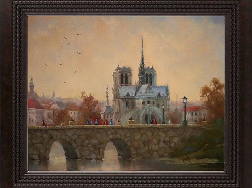 """""""Evening on the Seine"""""""