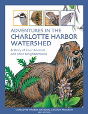 Adventures in the Charlotte Harbor Watershed Children's Book Cover