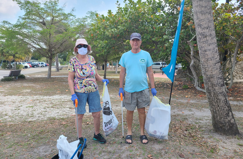 Earth Day Cleanup Helps Charlotte Harbor
