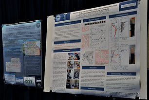 Research board at summit