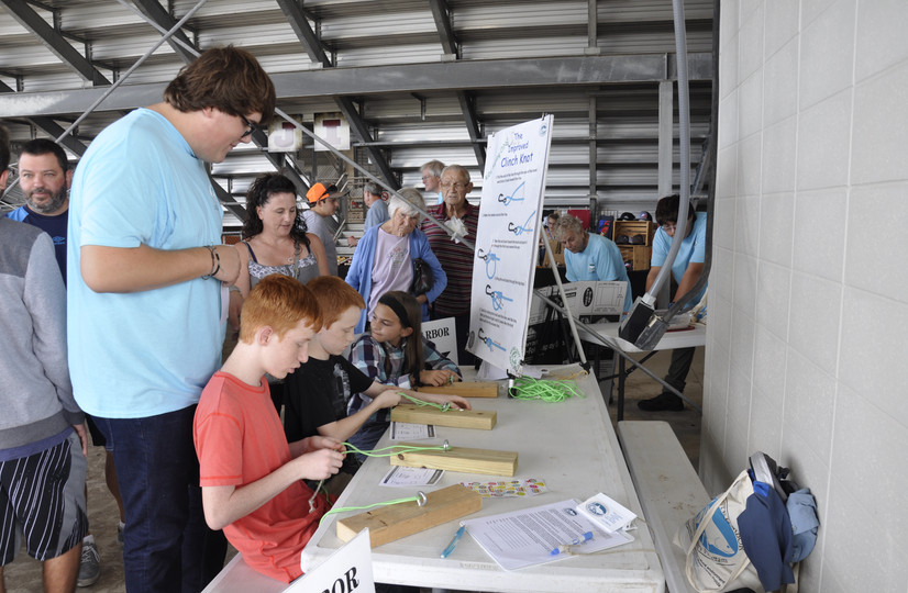 Sustainable Fishing Clinic at the Arcadia Rodeo