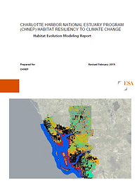 CHNEP Habitat Resiliency to Climate Change Report Cover