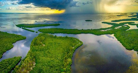 Thunderstorm over Pine Island Sound