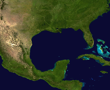 Aerial image of the Southeast region of the U.S.
