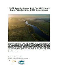 Habitat Restoration Needs Plan Phase 2 for the CHNEP Expansion Area Cover