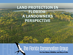 Land protection in Florida: A landowners perspective presentation