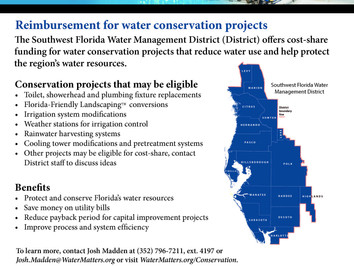Water Conservation Cost Share Funding