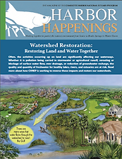 CHNEP Spring 2018 Harbor Happenings Magazine Cover