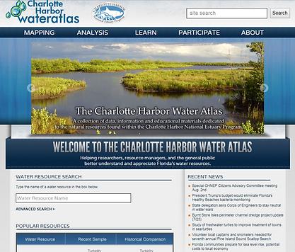 CHNEP Water Atlas example
