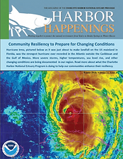 CHNEP Winter 2018 Harbor Happenings Magazine Cover