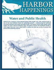 CHNEP Summer 2020 Harbor Happenings Magazine Cover