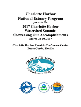 2017 Charlotte Harbor watershed summit cover of proceedings