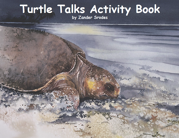 Turtle Talks Activity Book Cover
