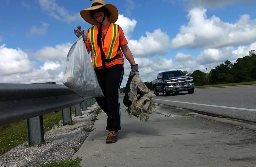 Pre-Marine Debris Cleanup: August 2019
