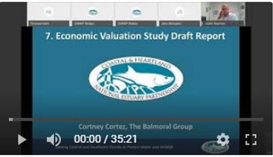Economic Valuation Study Draft Report by Cortney Cortez