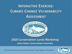 Climate Change Vulnerability Assesment presentation