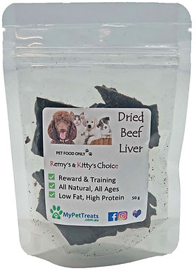 Dried Beef Liver - Premium Australian - Economy Pack