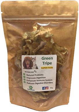 Green Beef Tripe - (Super Food) Australian - Economy Pack
