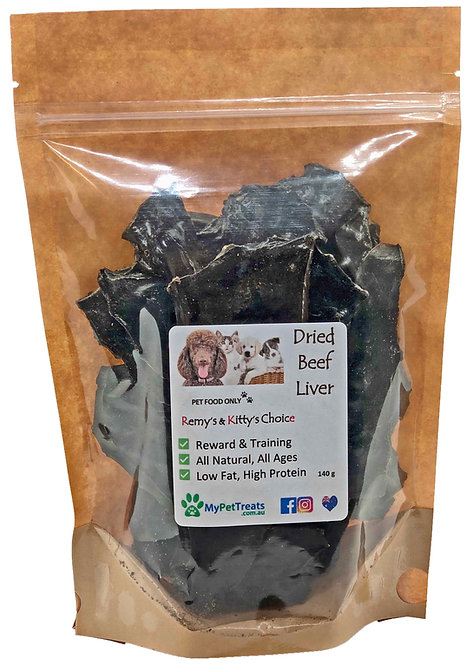 Dried Beef Liver - Premium Australian - Value Pack