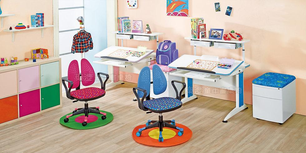 樂澄書桌 成長桌 手搖 搖桿 X6