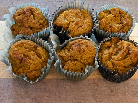 Healthy Pumpkin/Carrot Muffins