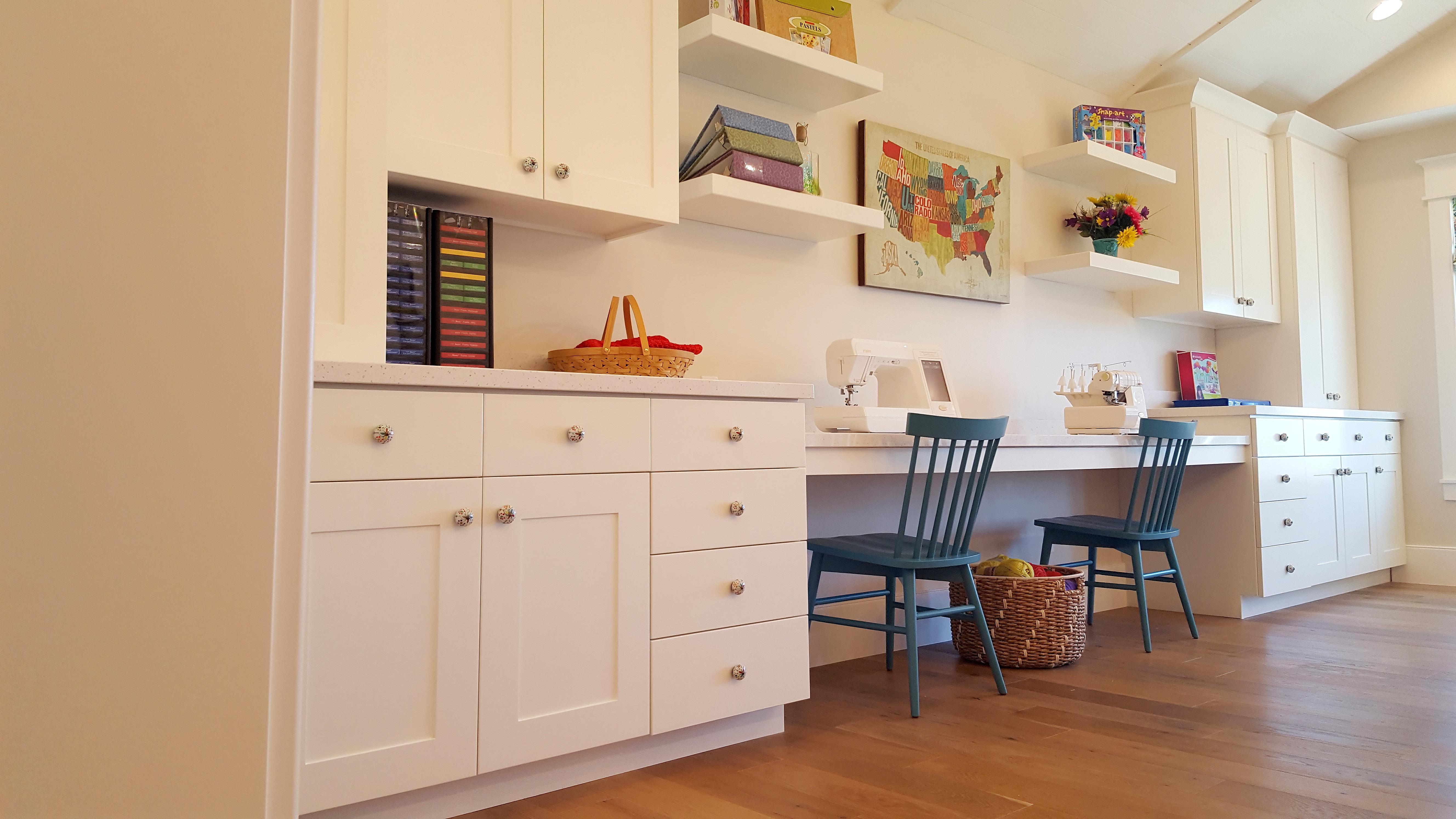 Utah custom cabinets craftroom