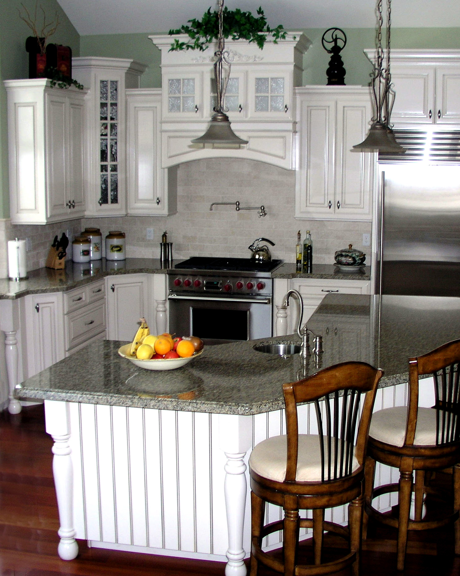 utah custom cabinets white kitchen 8