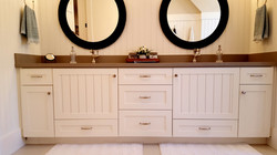 Utah custom cabinets white vanity 5