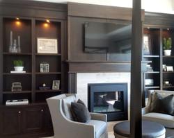 utah custom cabinets fireplace bookshelf 4