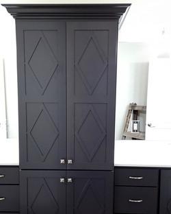 utah custom cabinets bathroom pantry