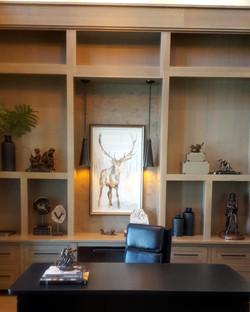utah custom cabinets office