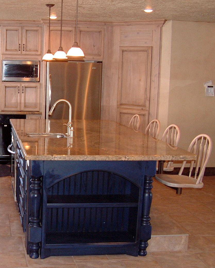 utah custom cabinets island 3