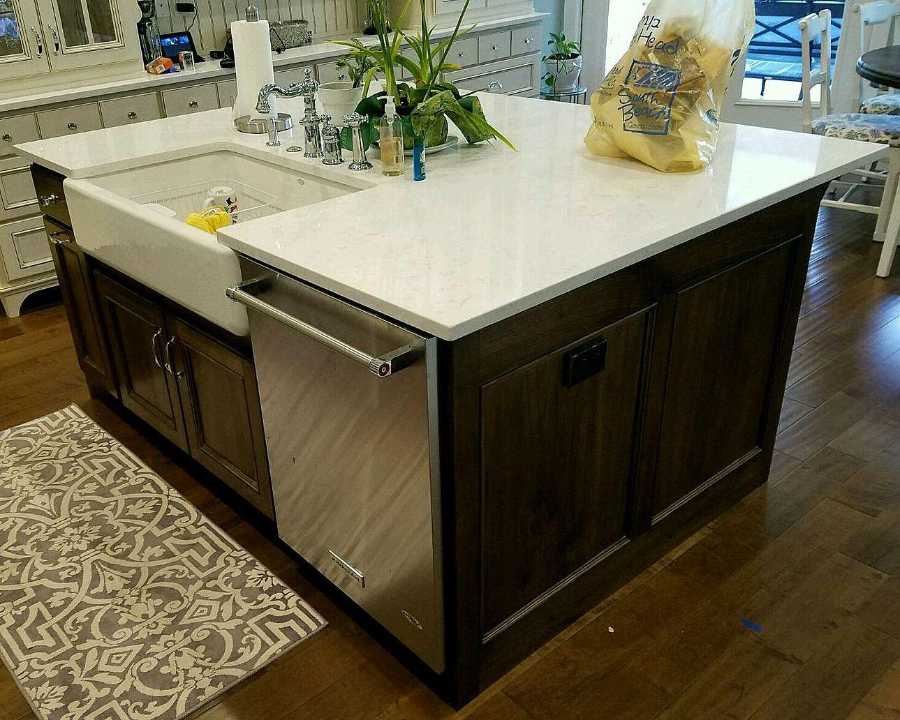 utah custom cabinets island 1
