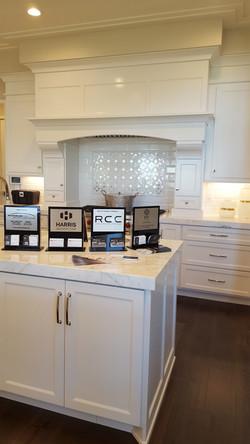 Utah white custom cabints kitchen 5