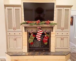 Utah custom cabinets entertainment center