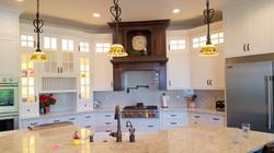 Utah white custom kitchen