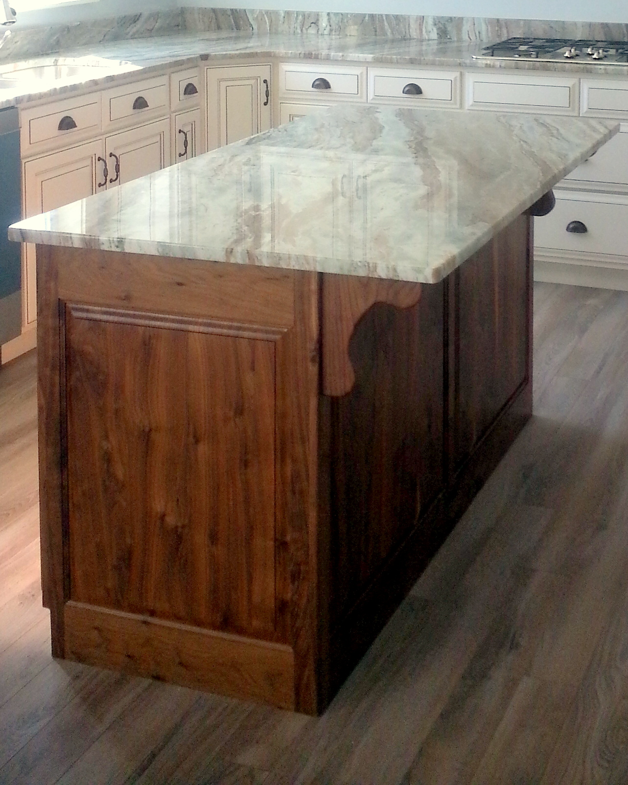 utah custom cabinets island 6
