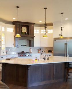 Utah white custom kitchen 2